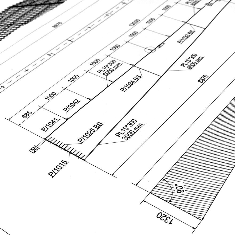 Shop drawing-2D Tekla